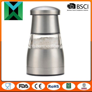 Keluli tahan karat manual garam dan pepper mill